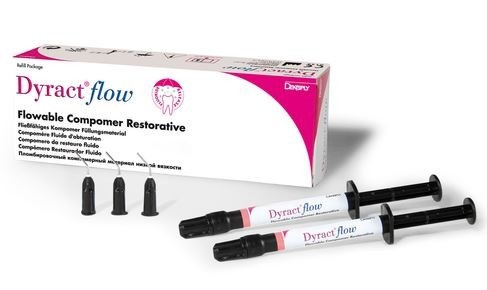 DYRACT FLOW A2 DENTSPLY 2 SPUITJES