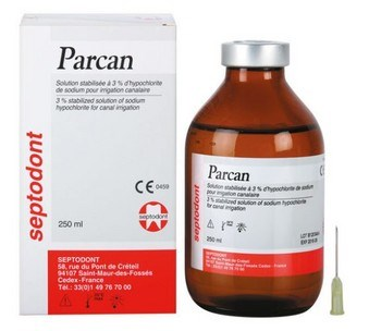 PARCAN 250 ML 3% SEPTODONT