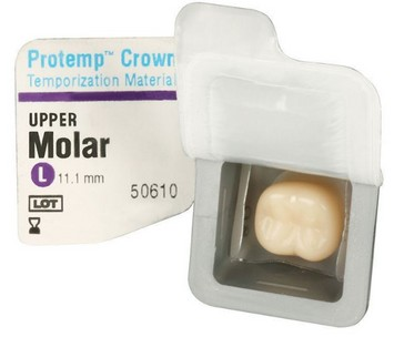 PROTEMP CROWN 3M ESPE MOLAR UPPER LARGE