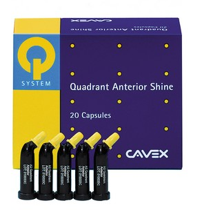 QUADRANT ANTERIOR SHINE CAPS BLEACH 10ST