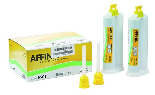 AFFINIS LIGHT CARTRIDGE 2X50ML 6501