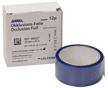HANEL OCCL/FOLIE DUB/ZIJDIG 22MM BLUE 480047