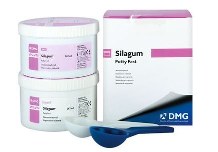 SILAGUM DMG VPS PUTTY FAST 2X262ML