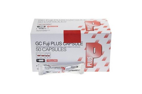 FUJI PLUS GC CAPSULES YELLOW 50ST