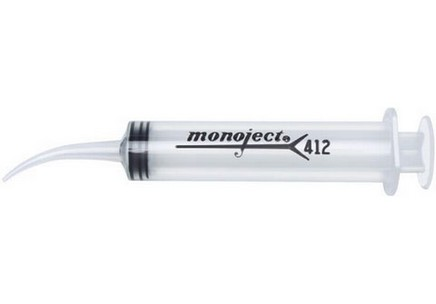 MONOJECT 412 SPUIT GEBOGEN TIP 12ML 50ST