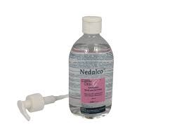 ALCOHOL NEDALCO 370 DES-G 500ML POMPFLES