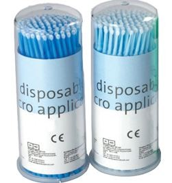 APPLIKATIE MICROBRUSH PP ASS BLUE 18-901D 4X100