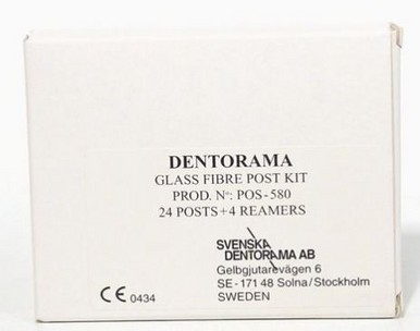 DENTORAMA GLASSFIBRE POST KIT 24+BOREN