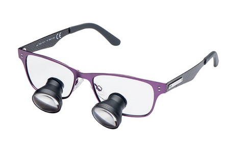 LOEPBRIL UNIVET ASH PURPLE - GREY