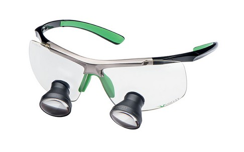 LOEPBRIL UNIVET TECHNE BLACK - GREEN