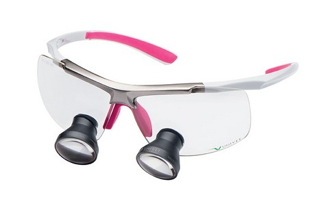 LOEPBRIL UNIVET TECHNE WHITE - PINK