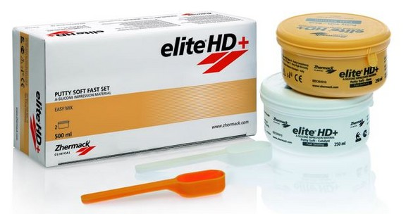 ELITE ZHERMACK PUTTY HD+ SOFT FAST 500ML